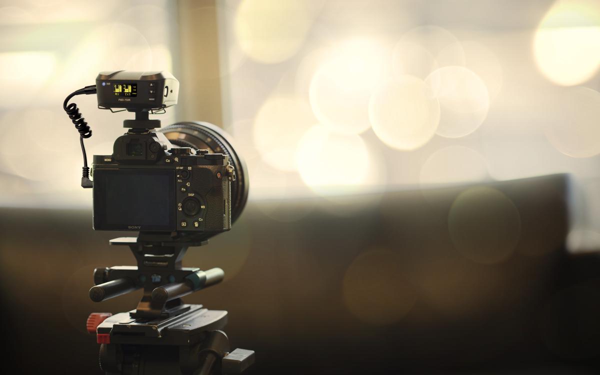 Sistema de microfonía inalámbrica Marantz PMD-750