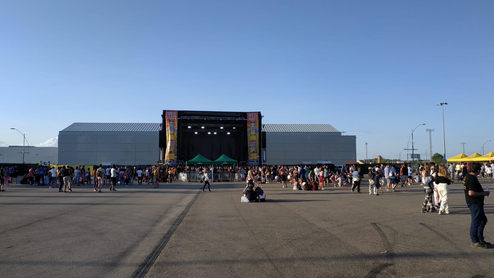 Escenario Urban Stage BOSE en Sonorama