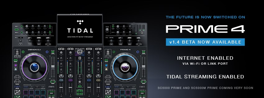 Nuevo firmware BETA para Prime 4 de Denon DJ