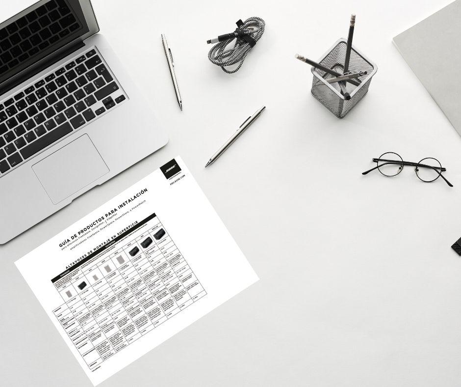 Guía de producto Bose Pro