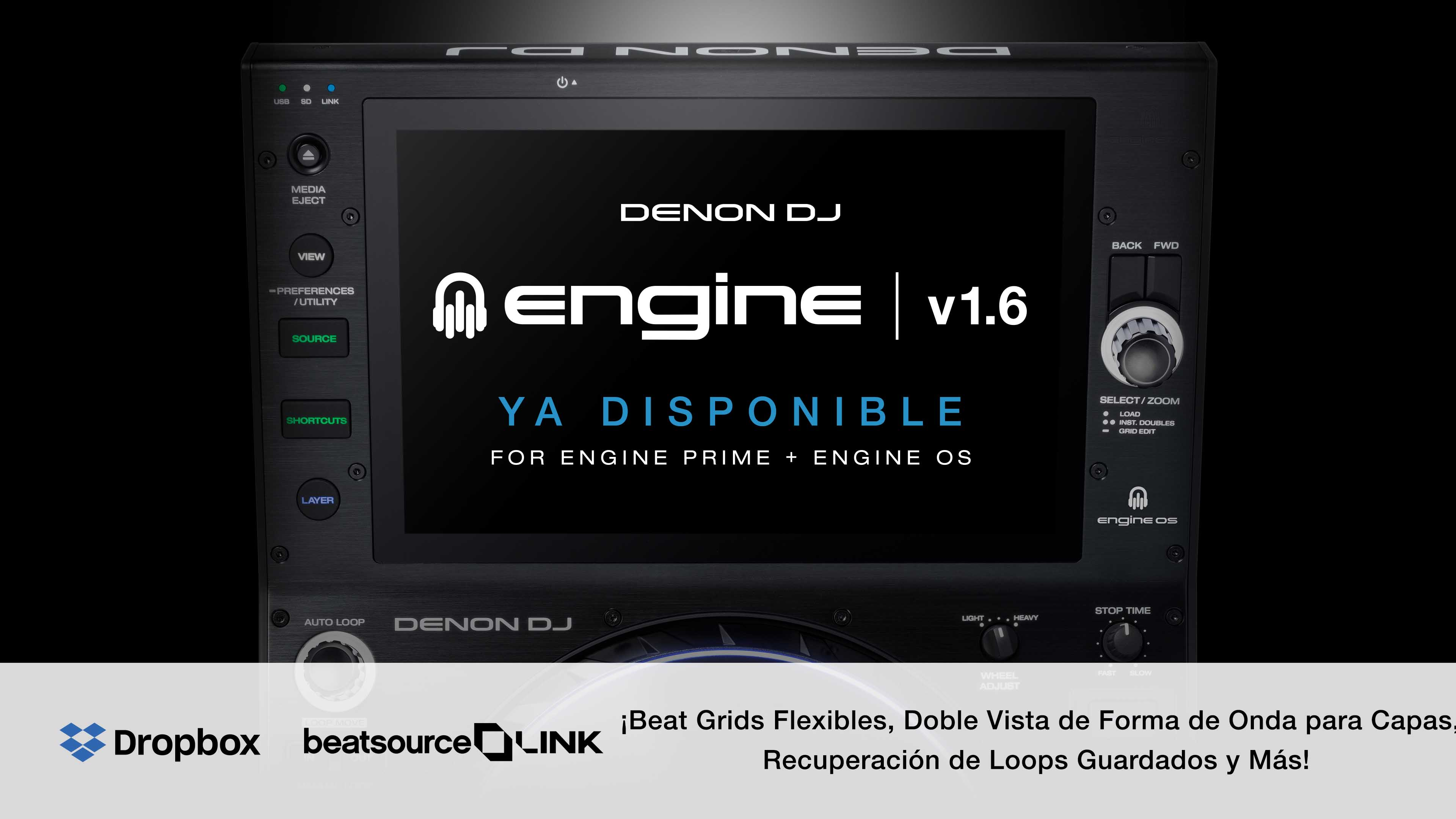 Actualización DENON DJ ENGINE v1.6 ya disponible